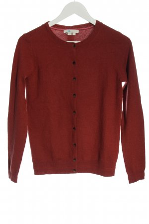 Boden Cardigan red casual look