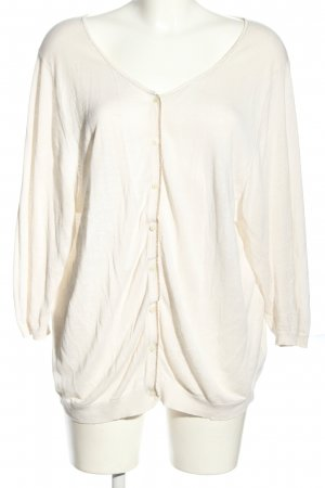 Boden Cardigan wolwit-goud casual uitstraling
