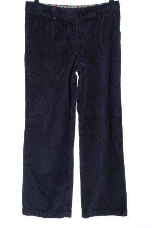 Boden Spodnie sztruksowe niebieski W stylu casual