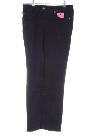 Boden Pantalon en velours côtelé noir style décontracté