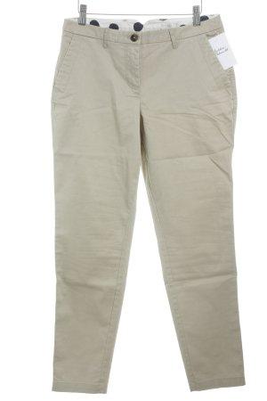 Boden Pantalon en velours côtelé crème style décontracté