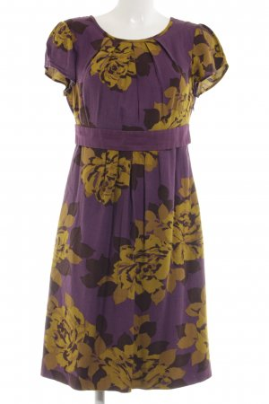 Boden Sheath Dress lilac-primrose allover print casual look