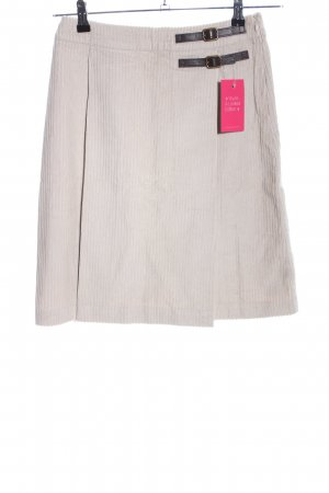 Boden Plaid Skirt natural white casual look