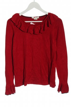 Boden Feinstrickpullover rot Casual-Look
