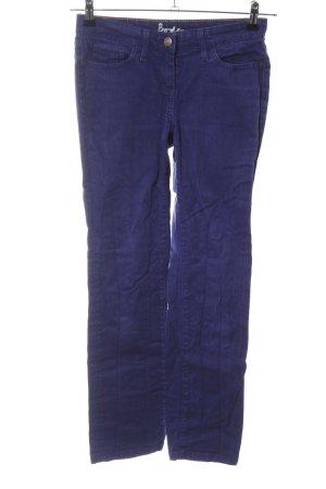 Boden Spodnie z pięcioma kieszeniami niebieski W stylu casual