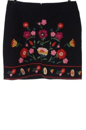 Boden Rozkloszowana spódnica Wyhaftowany logo W stylu casual