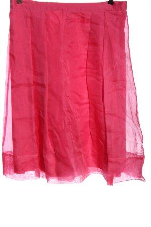 Boden Gonna a campana rosa stile casual