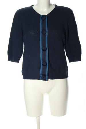 Boden Veste tricotée en grosses mailles bleu style d'affaires