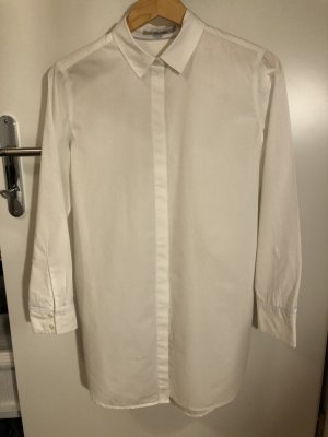 Boden Long Blouse white cotton