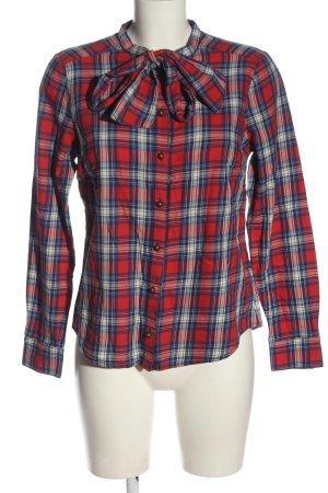 Boden Hemd-Bluse Allover-Druck klassischer Stil