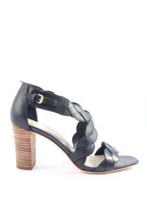 Boden High Heel Sandaletten blau Business-Look