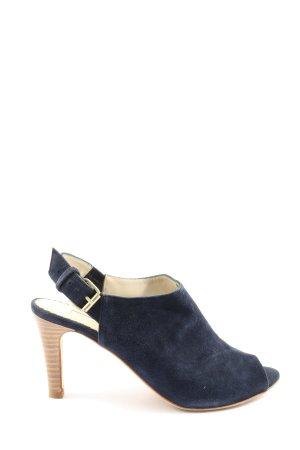 Boden High Heel Sandaletten blau Casual-Look