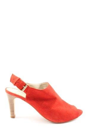 Boden High Heel Sandaletten hellorange Casual-Look