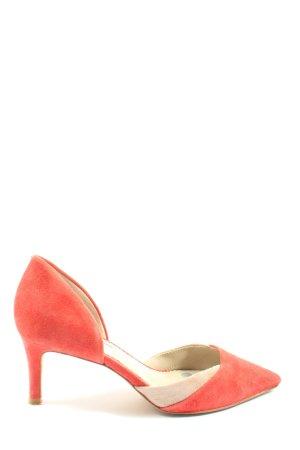 Boden High Heels light orange-cream elegant