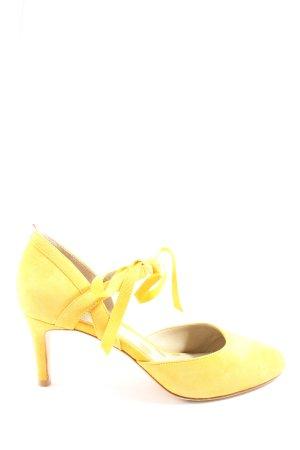 Boden High Heels blassgelb Casual-Look