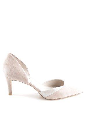 Boden High Heels cream-silver-colored