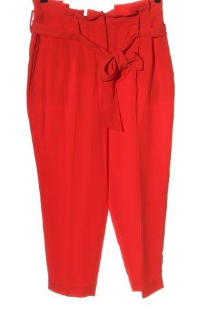 Boden Pantalon taille haute rouge style décontracté