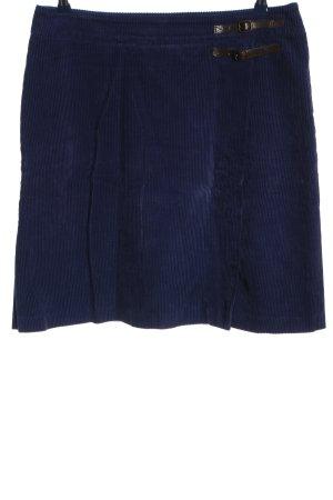 Boden Spódnica z wysokim stanem niebieski-brązowy Wzór w paski W stylu casual
