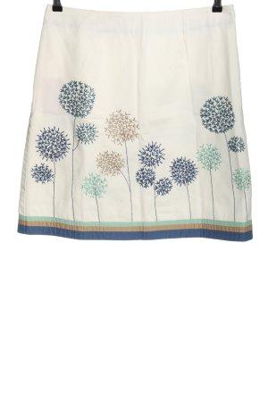 Boden High Waist Skirt flower pattern casual look