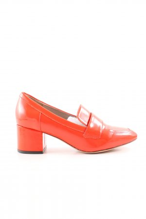 Boden Hochfront-Pumps rot Business-Look