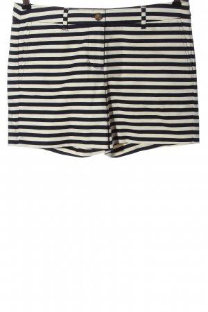 Boden Hot Pants natural white-black striped pattern casual look