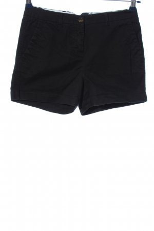 Boden Hot Pants black casual look