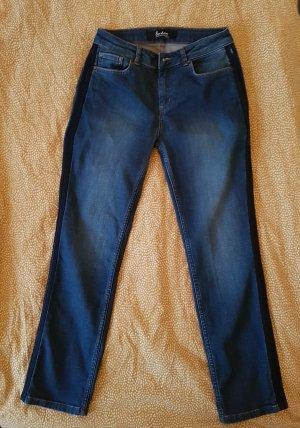 Boden Jeans slim fit blu scuro-azzurro