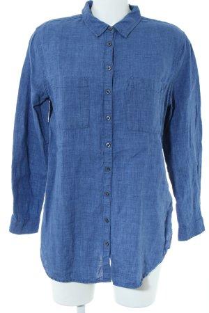 Boden Spijkershirt blauw casual uitstraling