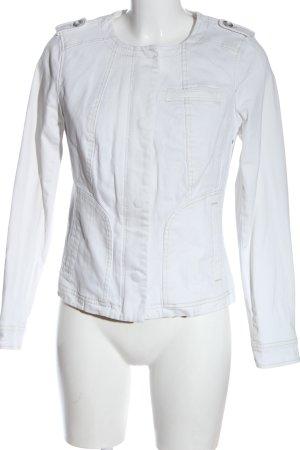 Boden Veste en jean blanc style décontracté