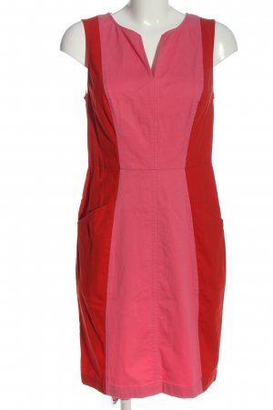 Boden Denim Dress red-pink casual look