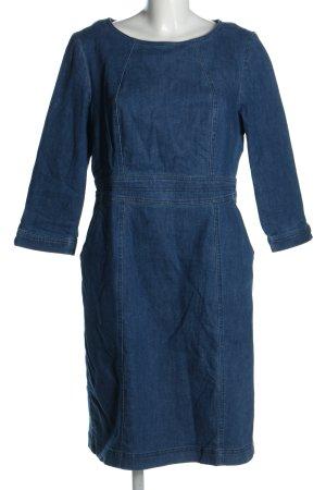 Boden Jeansowa sukienka niebieski W stylu casual