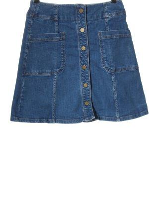 Boden Jupe en jeans bleu style décontracté