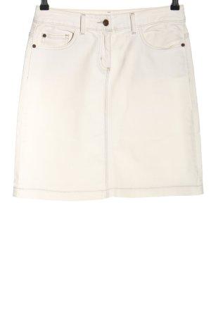 Boden Spijkerrok wit casual uitstraling