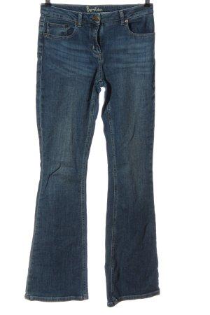 Boden Jeansschlaghose blau Casual-Look
