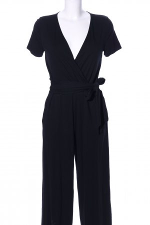 Boden Jumpsuit schwarz Business-Look