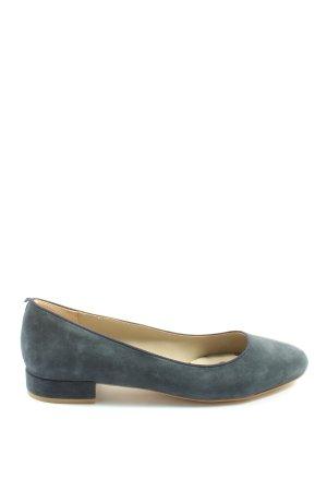 Boden Classic Ballet Flats blue casual look