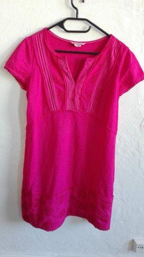 Boden Kleid Clio Casual pink Gr.UK10 S 36 Spitze Bordüre