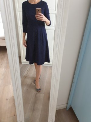 Boden A Line Dress dark blue