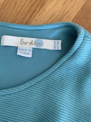 Boden Balloon Dress turquoise