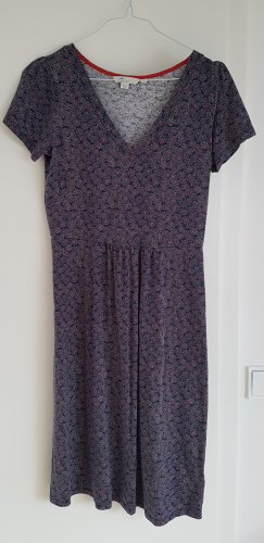Boden Kleid mit Streublumenmuster