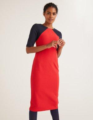 BODEN Kleid *NEU* rot-blau S 34-36