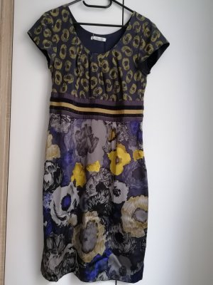 Boden Kleid Seide XS 34 UK8 bunt mehrfarbig