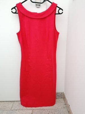 Boden Kleid Sommerkleid UK10R S 36 rot pink Jersey Ponte