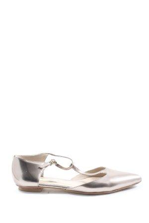 Boden Komfort-Sandalen silberfarben Elegant