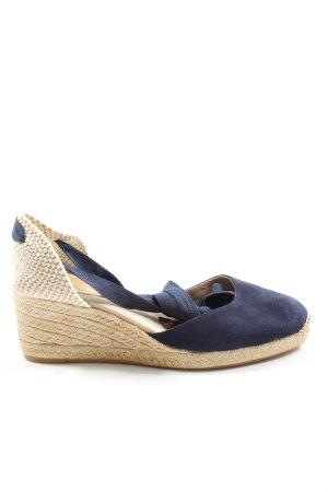 Boden Komfort-Sandalen blau-creme Casual-Look