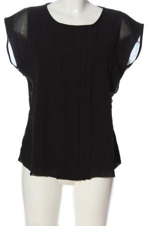 Boden Bluzka z krótkim rękawem czarny W stylu casual