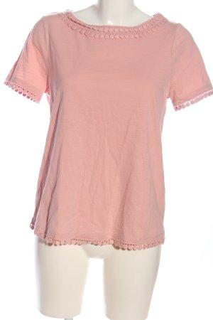 Boden Bluzka z krótkim rękawem różowy W stylu casual