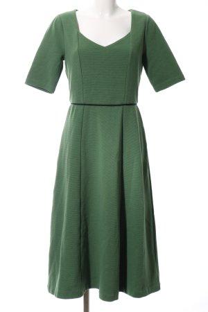Boden Kurzarmkleid khaki-waldgrün Business-Look