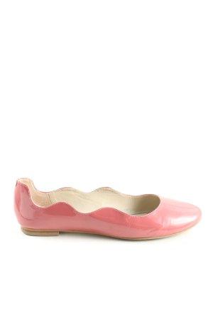 Boden Lackballerinas pink Casual-Look