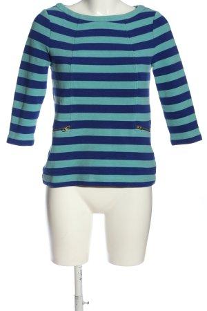 Boden Bluzka z długim rękawem niebieski-turkusowy Na całej powierzchni